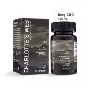 FULL STRENGTH CBD CAPSULES